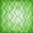 Green texture with waves - 图库照片