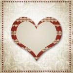 Vintage grunge achtergrond een feestelijke Valentijn — Stockfoto