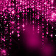 Elegant abstract background with bokeh defocused lights and stars — Stock Photo