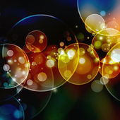 Bokeh sfocato sfondo di luci — Foto Stock