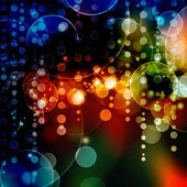 Bokeh blurred lights background — Stock Photo