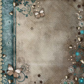 Vintage background for invitation or congratulation — Stock Photo