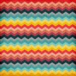 Seamless zigzag background pattern — Stock Photo #22055807