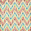 Abstract  zig-zag  Background — Stock Photo