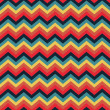Colorful zigzag seamless pattern. Chevron pattern - Stock Photo
