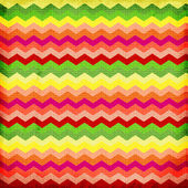 Colorful zigzag seamless pattern. Chevron pattern. — Stock Photo