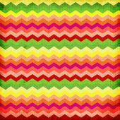 Colorful zigzag seamless pattern. Chevron pattern. — Stock Photo