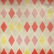 Seamless retro harlequin background — Stock Photo #24941365