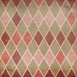 Seamless retro harlequin background  — Foto de Stock