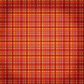 Seamless plaid fabric pattern background — Stock Photo