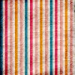 Stock Photo: Retro stripe pattern