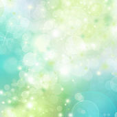Spring abstract background with bokeh — Stock Photo