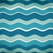 Blue abstract waves background — Stock Photo