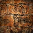 Bricked textured wall background — Stock Photo