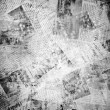 Old background with newspaper — Stock Photo