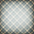 Blue stripes plaid — Stock Photo