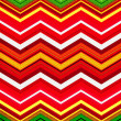 Stock Photo: Christmas Chevron Background Pattern
