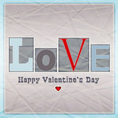 Aşk kartı — Stockfoto