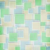 Abstract geometric tiles pattern — Stock Photo