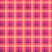 Seamless retro white-pink square tablecloth — Stock Photo