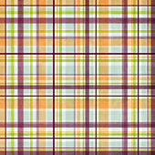 Seamless Plaid Pattern  — Stock Photo