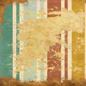 Vintage  striped background with spots — Stock Photo
