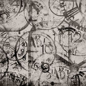 Grunge background . Watches. Time — Stock Photo