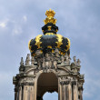 The Zwinger palace of Dresden — Stock Photo