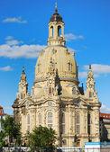 Дрезденская Фрауэнкирхе — Стоковое фото