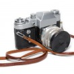 Old camera isolated on white background — Stock Photo #2394365