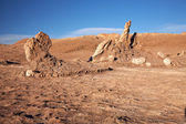 Las Tres Marias, Atacama desert, Chile — Stock Photo