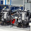 Stock Photo: Manufacturing of car engine