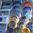 Stock Photo: Earthenware in market