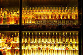 The largest Scotch Whisky collection in the world — Stock Photo