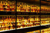 The largest Scotch Whisky collection in the world — Stockfoto