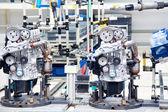 Produzione del motore dell'automobile — Foto Stock