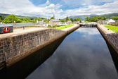 Caledonian Canal at Fort Augustus , Scotland — Stock Photo