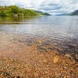 View at lake Loch Ness, Scotland — Stock Photo