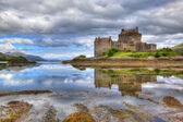 Eilean Donan castle, Highlands, Scotland, UK — Stock Photo