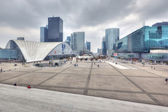 View on business district La Defense, Paris — Stock Photo