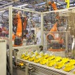 Robots in a car factory — Stock Photo #25138647