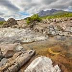 View on Black Cuillin ridge, Isle of Skye, Scotland — Stock Photo #27089383