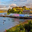 View on Portree, Isle of Skye, Scotland — Stockfoto