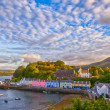 View on Portree, Isle of Skye, Scotland — Stock Photo