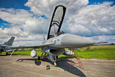 F-16 Fighting Falcon from Royal Netherlands Air Force — Stock Photo