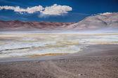 塩の湖ウユニ pujsa, チリ — ストック写真