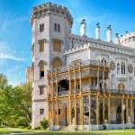 Bohemian castle Hluboka nad Vltavou, Czech Republic — Stock Photo