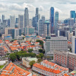 Stock Photo: Downtown and Chinatown of Singapore