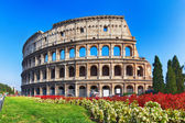 Ancient Colosseum in Rome, Italy — Stock Photo