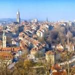 Panorama von Bern, Schweiz — Stockfoto #46425909